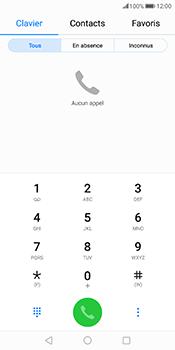Huawei Mate 10 Pro - Messagerie vocale - Configuration manuelle - Étape 3