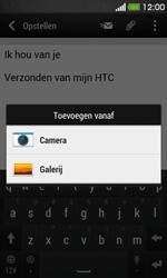 HTC Desire 500 - e-mail - hoe te versturen - stap 12