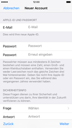 Apple iPhone 6s iOS 10 - Apps - Konto anlegen und einrichten - Schritt 12