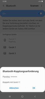Samsung Galaxy A80 - Bluetooth - Geräte koppeln - Schritt 10