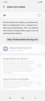 Samsung Galaxy S20 5G Dual-SIM eSIM SM-G981B - Beveiliging en ouderlijk toezicht - Zoek mijn mobiel inschakelen - Stap 6