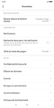 Xiaomi Redmi 5 Plus - Internet - Configuration manuelle - Étape 22