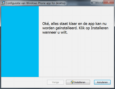 Nokia Lumia 920 LTE - Software - Download en installeer PC synchronisatie software - Stap 6