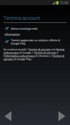 Samsung Galaxy Note II - Applicazioni - Configurazione del negozio applicazioni - Fase 11