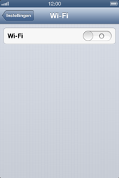 Apple iPhone 4 (iOS 6) - wifi - handmatig instellen - stap 4