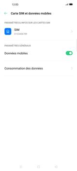 Oppo Find X2 Pro - Internet et connexion - Activer la 4G - Étape 5