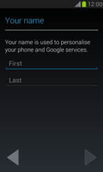 Samsung Galaxy S III Mini - Applications - Setting up the application store - Step 5
