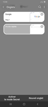Samsung Galaxy A31 - Internet et connexion - Naviguer sur internet - Étape 18