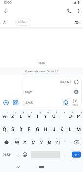 Google Pixel 3a - Contact, Appels, SMS/MMS - Envoyer un MMS - Étape 8