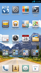 Huawei Ascend G526 - Internet et roaming de données - Désactivation du roaming de données - Étape 3