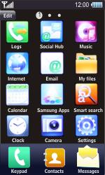 Samsung S8500 Wave - E-mail - Sending emails - Step 3