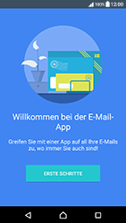 Sony Xperia X Compact - E-Mail - Manuelle Konfiguration - Schritt 4