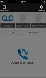 BlackBerry Z10 - Messagerie vocale - Configuration manuelle - Étape 4