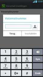 LG P880 Optimus 4X HD - Voicemail - Handmatig instellen - Stap 7