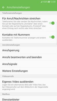 Samsung G928F Galaxy S6 edge+ - Android M - Anrufe - Rufumleitungen setzen und löschen - Schritt 6