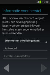 Samsung S6810P Galaxy Fame - apps - account instellen - stap 14