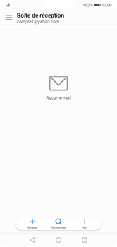 Huawei P20 Lite - E-mail - 032b. Email wizard - Yahoo - Étape 3