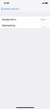 Apple iPhone X - iOS 12 - Netwerk - Wijzig netwerkmodus - Stap 5