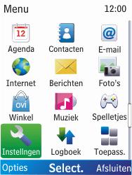 Nokia X2-00 - bluetooth - aanzetten - stap 3