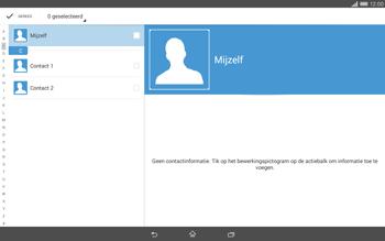 Sony Xperia Tablet Z2 4G (SGP521) - Contacten en data - Contacten overzetten via Bluetooth - Stap 7