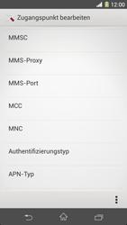 Sony Xperia Z1 - MMS - Manuelle Konfiguration - Schritt 11
