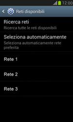 Samsung Galaxy S III Mini - Rete - Selezione manuale della rete - Fase 9
