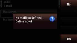 Nokia N97 Mini - E-mail - Manual configuration - Step 7