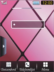 Samsung S7070 Diva - Internet - handmatig instellen - Stap 1