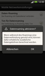 HTC One SV - Ausland - Im Ausland surfen – Datenroaming - 8 / 10