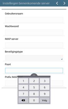 Samsung Galaxy Tab 4 (T335) - E-mail - Handmatig instellen - Stap 10
