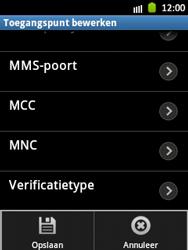 Samsung S5300 Galaxy Pocket - Internet - Handmatig instellen - Stap 13