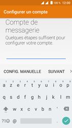 Crosscall Trekker M1 Core - E-mail - Configuration manuelle (outlook) - Étape 6