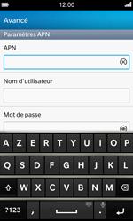 BlackBerry Z10 - MMS - Configuration manuelle - Étape 8