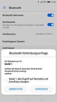 Huawei P10 Plus - Bluetooth - Verbinden von Geräten - Schritt 6