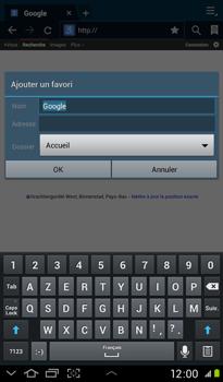 Samsung P3100 Galaxy Tab 2 7-0 - Internet - Navigation sur Internet - Étape 5