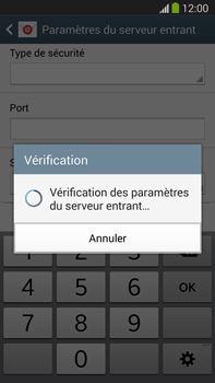 Samsung N9005 Galaxy Note III LTE - E-mail - Configuration manuelle - Étape 11