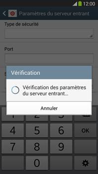Samsung Galaxy Note III LTE - E-mail - configuration manuelle - Étape 11