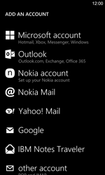 Nokia Lumia 925 - E-mail - Manual configuration - Step 6