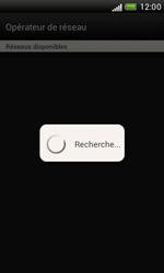 HTC Desire X - Réseau - Sélection manuelle du réseau - Étape 8
