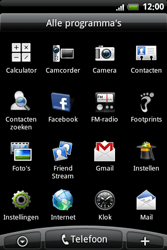 HTC A6363 Legend - e-mail - handmatig instellen - stap 3