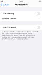 Apple iPhone 7 - iOS 14 - Internet und Datenroaming - Deaktivieren von Datenroaming - Schritt 6