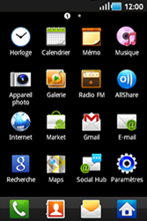 Samsung S5830 Galaxy Ace - Internet - configuration manuelle - Étape 4