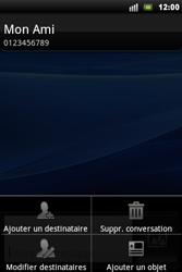 Sony Ericsson Xperia Mini Pro - MMS - envoi d'images - Étape 8