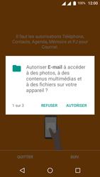 Wiko U-Feel Lite - E-mail - Configuration manuelle (outlook) - Étape 5