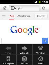 Alcatel OT-903 - Internet - hoe te internetten - Stap 5