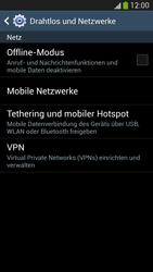 Samsung I9295 Galaxy S4 Active - Ausland - Im Ausland surfen – Datenroaming - Schritt 7