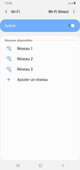 Samsung Galaxy A10 - Internet et connexion - Accéder au réseau Wi-Fi - Étape 7
