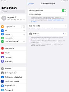 Apple ipad-pro-10-5-inch-met-ipados-13-model-a1709 - Beveiliging en ouderlijk toezicht - Zoek mijn iPad inschakelen - Stap 6