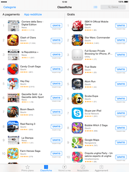 Apple iPad mini iOS 8 - Applicazioni - Installazione delle applicazioni - Fase 9