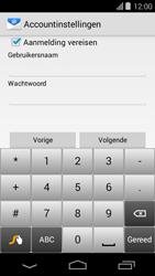 Acer Liquid E600 - E-mail - Handmatig instellen - Stap 13
